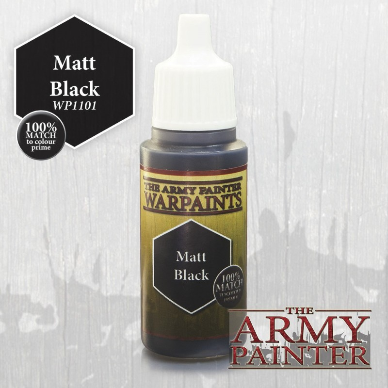 Warpaints Matt Black