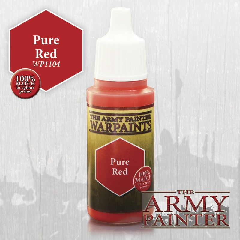 Warpaints Pure Red