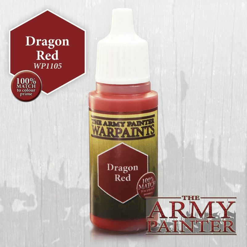 Warpaints Dragon Red