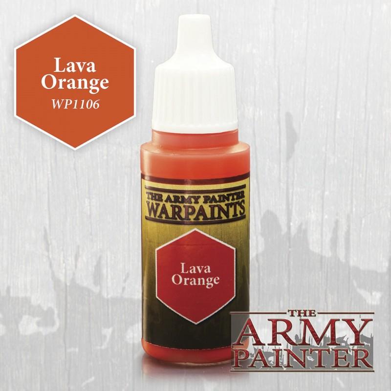 Warpaints Lava Orange