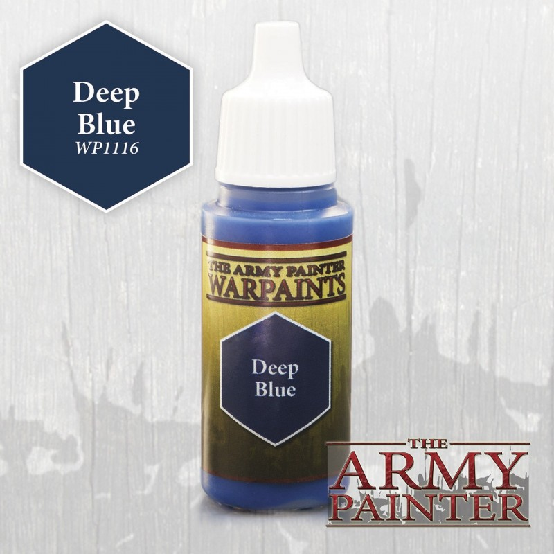 Warpaints Deep Blue