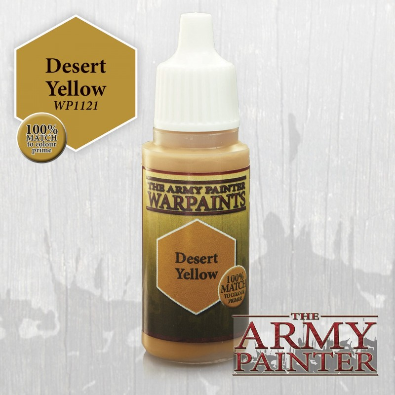 Warpaints Desert Yellow