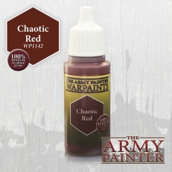 Warpaints Chaotic Red