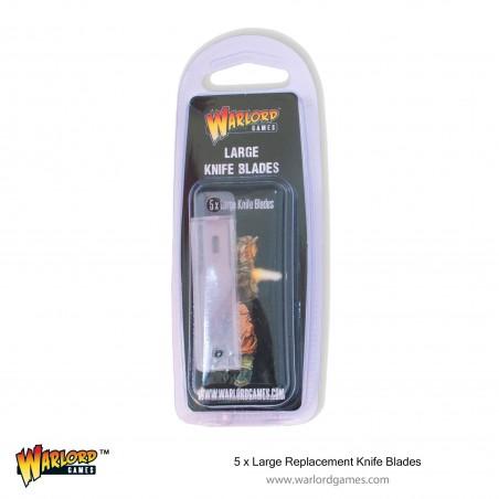 Lame de remplacement pour large couteau - Large Replacement Knife Blades (5)