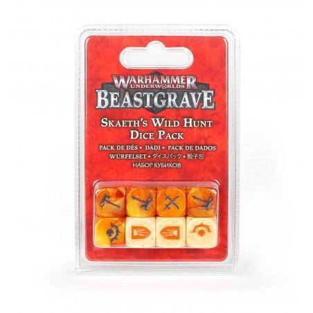 Warhammer Underworlds: Beastgrave – Dés Chasse Sauvage de Skaeth