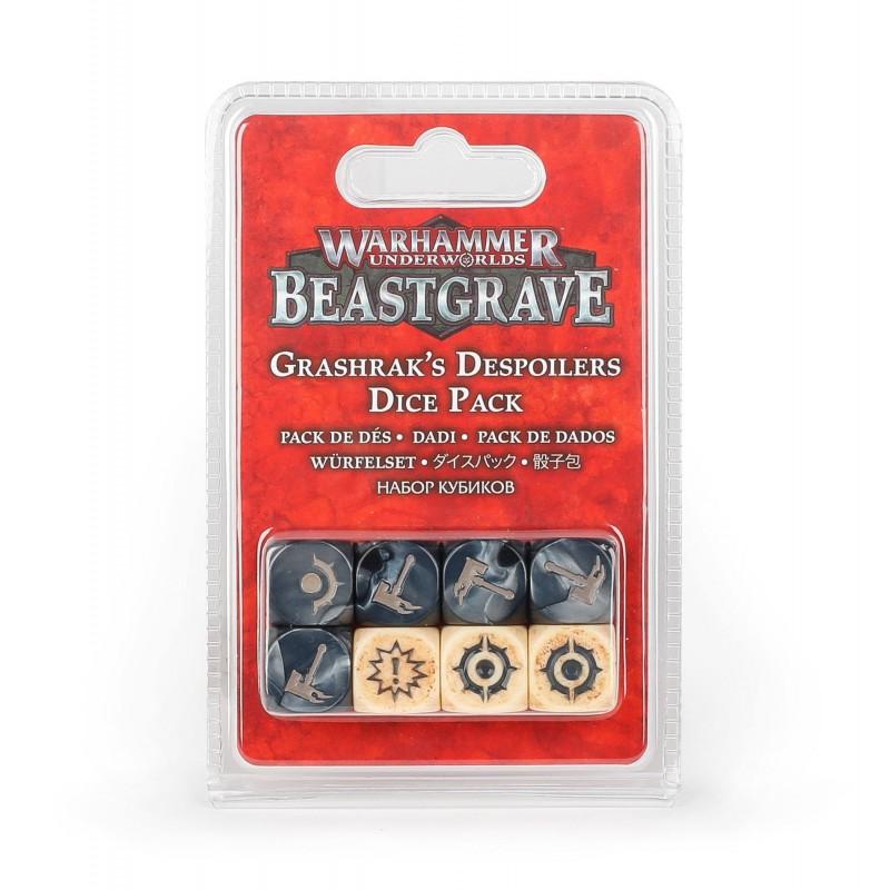 Warhammer Underworlds: Beastgrave – Dés Profanateurs de Grashrak