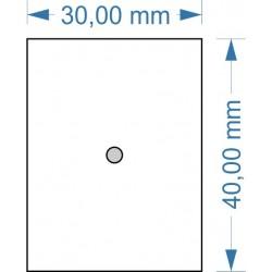 Socle 30x40mm magnétique