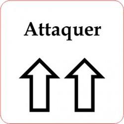 Pion Ordre - Attaquer