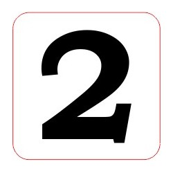 "Marqueur perte - ""2"""