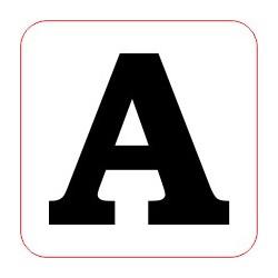 """Marqueur perte - """"A"""""""