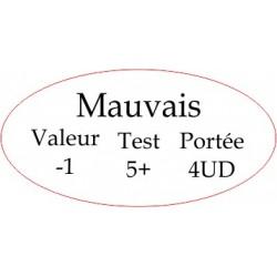 """Marqueur Général """"Mauvais"""""""