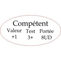 """Marqueur Général """"Compétent"""""""