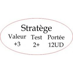 """Marqueur Général """"Stratège"""""""