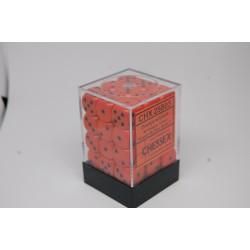 Opaque 12mm d6 Orange/black...