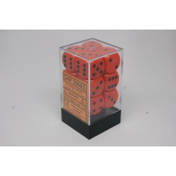 Opaque 16mm d6 Orange/black...