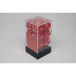 Opaque 16mm d6 Red/white...
