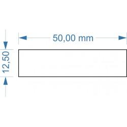 Socle 12.5x50mm