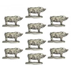 Pigs (x10)