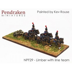Limbers with line team /...