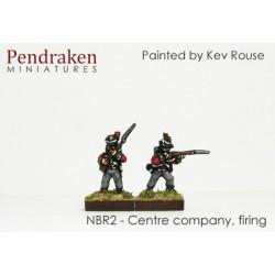 Centre company, firing line