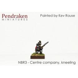 Centre company, kneeling to...