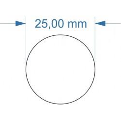 Aimant rond diamètre 25mm...