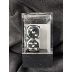 Silver Metallic 16mm d6...
