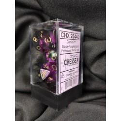 Boite Black-Purple w/gold -...