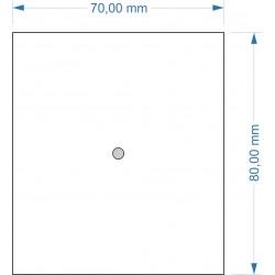 Socle 70x80mm magnétique