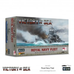 Vicory at Sea Royal Navy Fleet