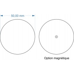 Socle rond diamètre 50mm