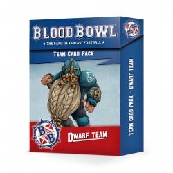 Dwarf Team Card Pack (Anglais)
