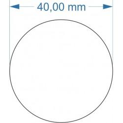 Aimant rond diamètre 40mm...