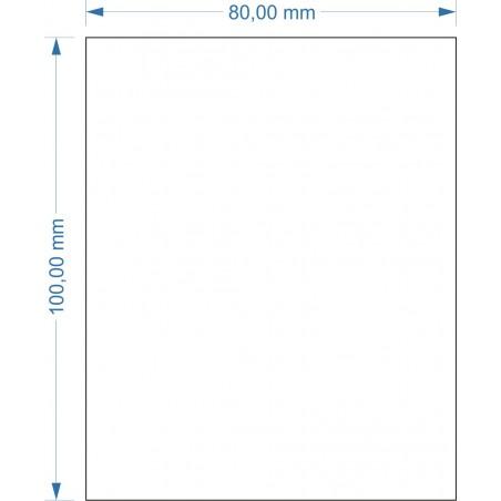 Socle 80x100m