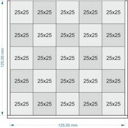 Plateau de mouvement 125x125mm