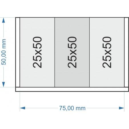Plateau de mouvement 75x50mm
