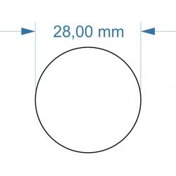 Aimant rond diamètre 28mm...