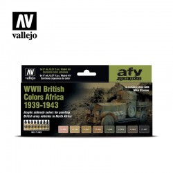 71622 - WWII British Colors...
