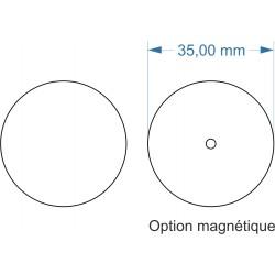 Socle rond diamètre 35mm