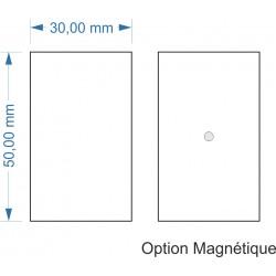 Socle 30x50mm