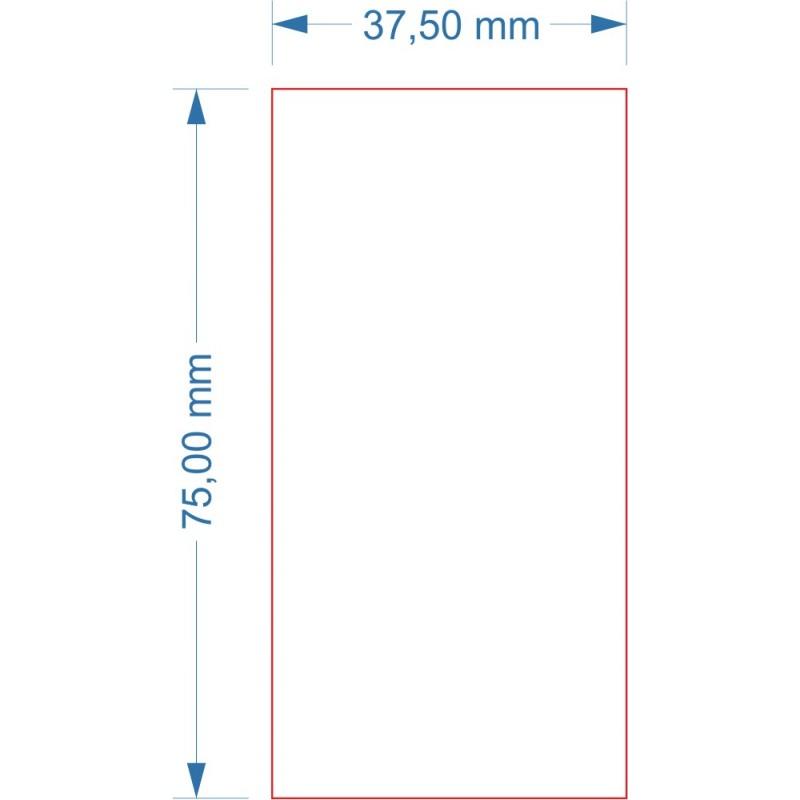 Socle 37.5x75mm