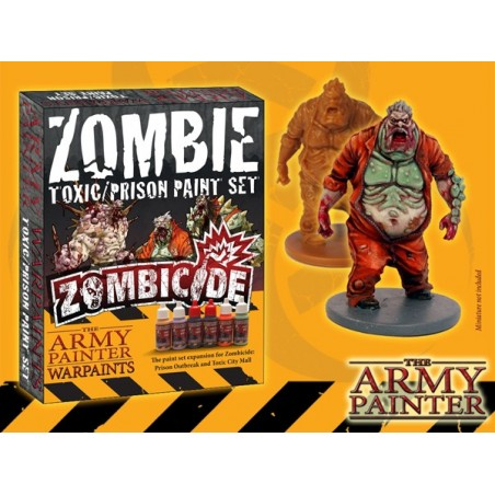 Zombie Toxic & Prison Paint Set