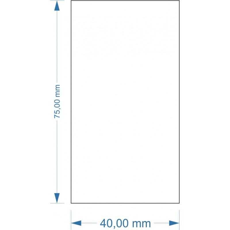 Socle 40x75mm