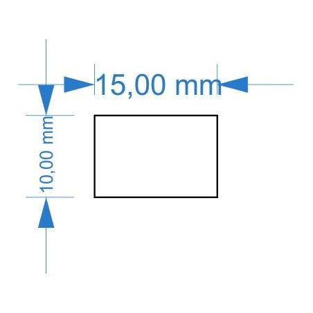Socle 10x15mm