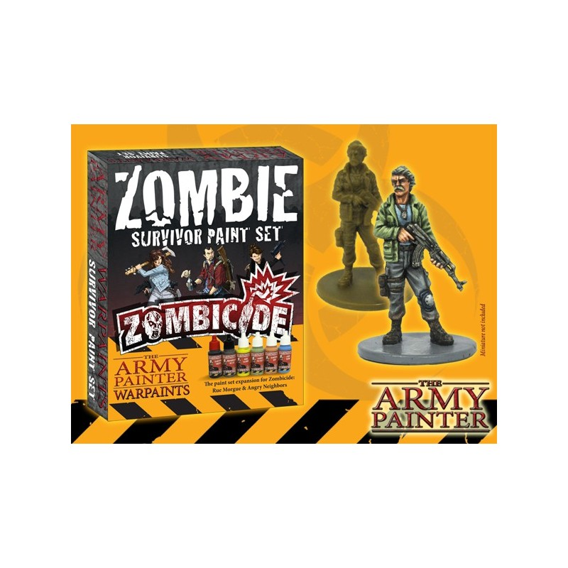 Zombicide : Survivor paint Set