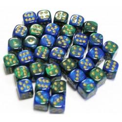 GEMINI - Bleu-Vert/Or