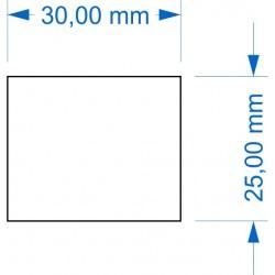 Socle 30x25mm