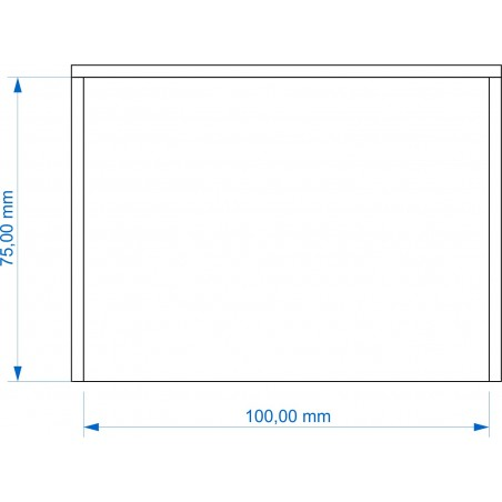 Plateau de mouvement 100x75mm