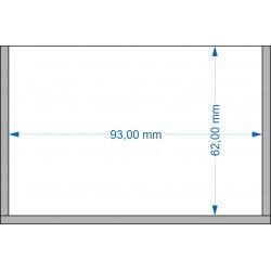 Plateau de mouvement 93x62mm
