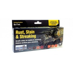 70183 - Rust, Stain and Streaking set